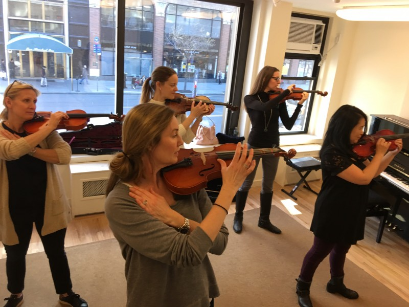Suzuki Violin Classes Nyc